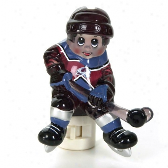 Colorado Avalanche Nhl Night Light