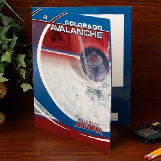 Colorado Avalanche Team Folder