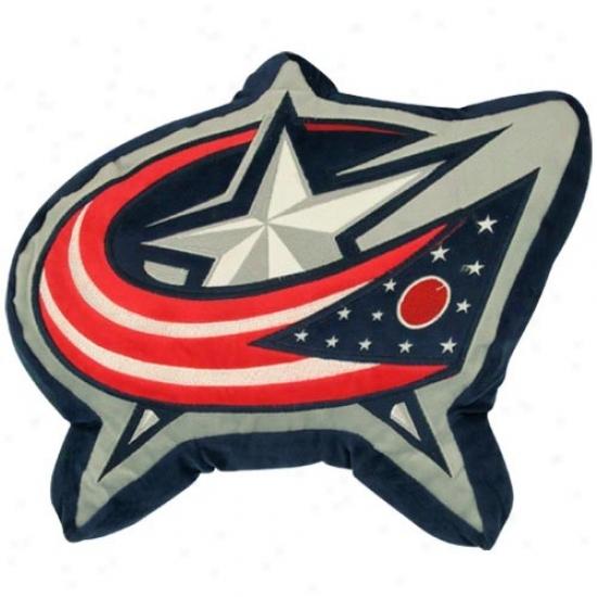 Columbus Blue Jackets 14-inch Team Logo Plush Pilpow