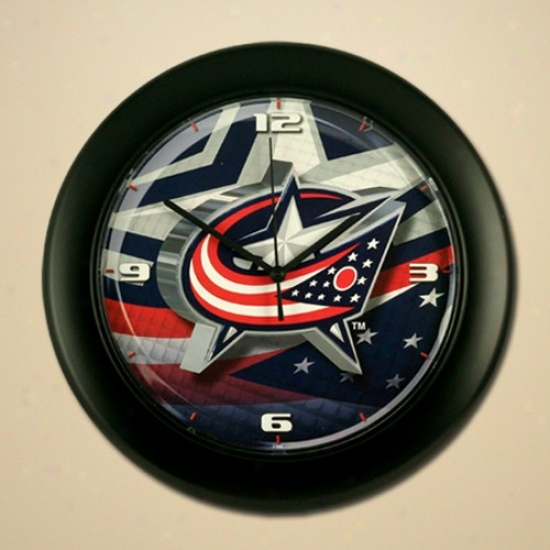 Columbus Blue Jackets High Definition Wall Clck