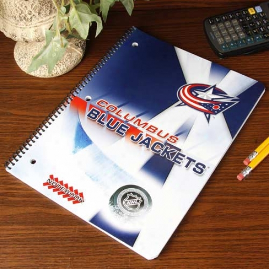 Columbus Blue Jackets Notebook