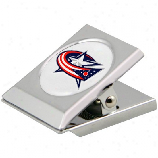 Columbus Melancholy Jackets Silver Heavy-duty Magnetic Chip Clip