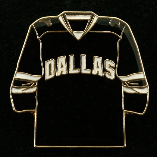 Dallas Star Caps : Dallas Star Team Jersey Pin