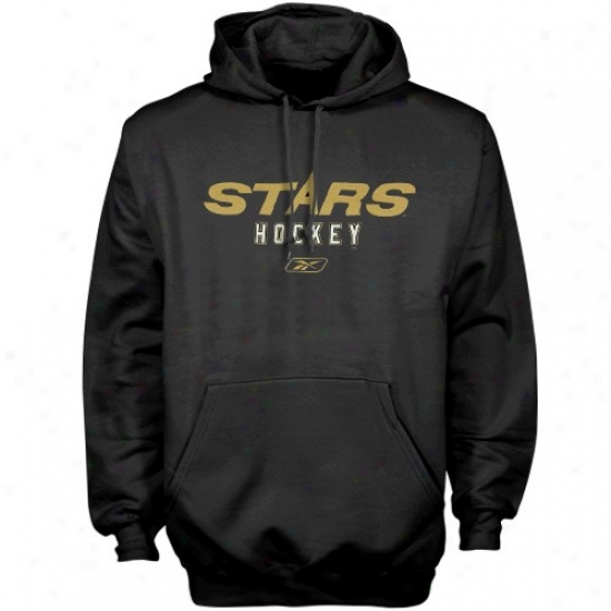 Dallas Star Hoodies : Reebok Dallas Star Dark Wordplay Hoodies