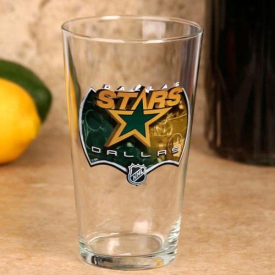 Dallas Stars 17 Oz. Enhanced Hi-def Mixing Glass