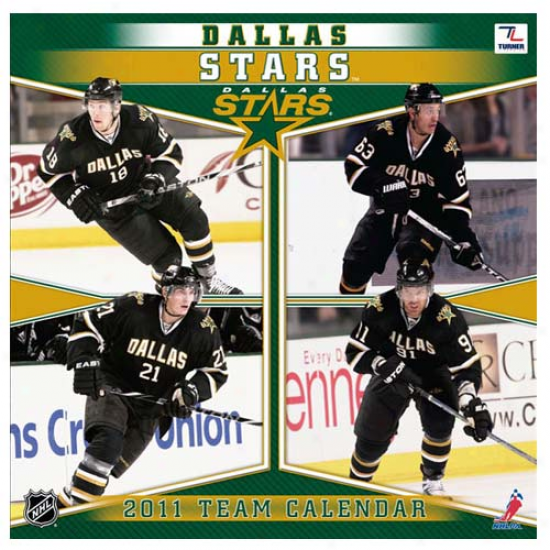 Dallas Stars 2011 Wall Calendar