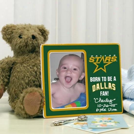 Dallas Stars Born To Be Picture Frame