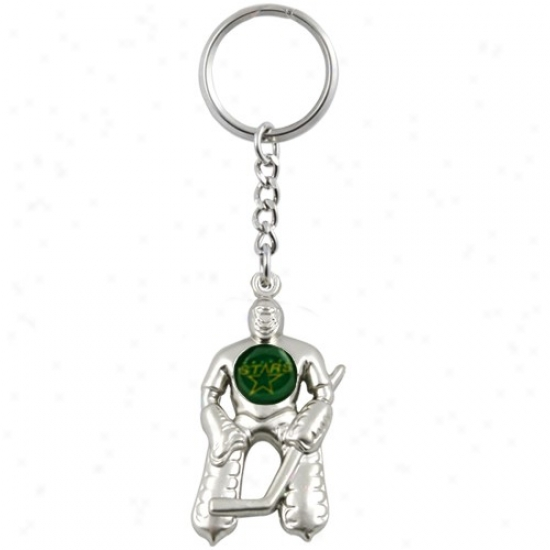 Dallas Stars Goalie Keyychain
