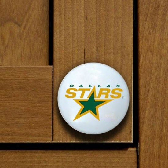 Dallas Stars Team Logo Cabinet Knob