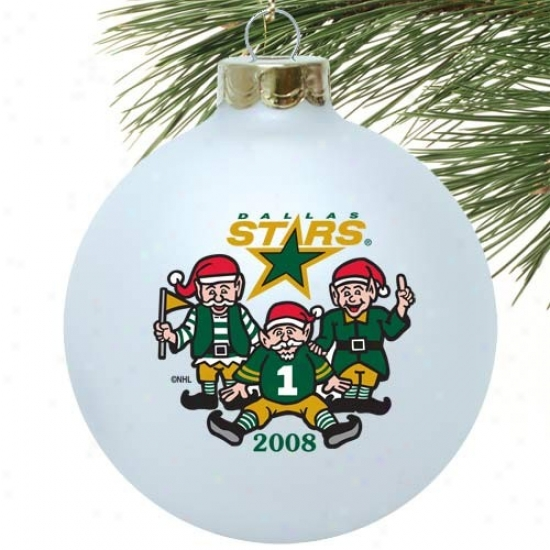 Dallas Stars White 2008 Collectors Series Ornament
