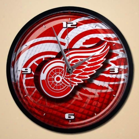 Detroit Red Wings 12'' Wall Clock