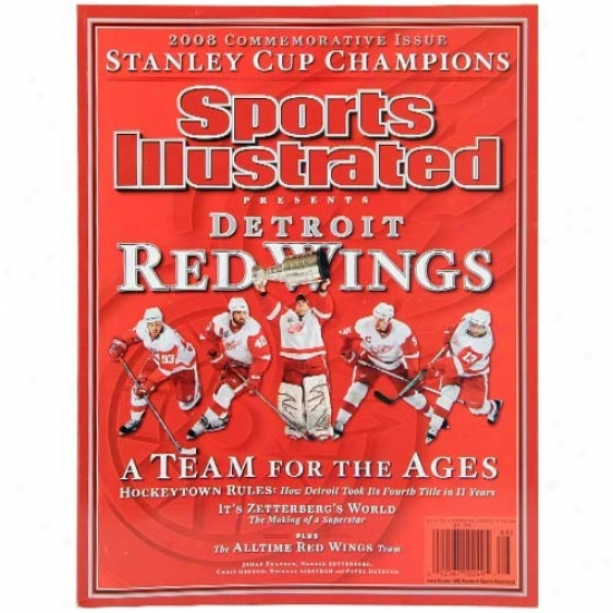 Detroit Red Wings 2007-2008 Nhl Champions Sports Illustrated Comemmorative Edition