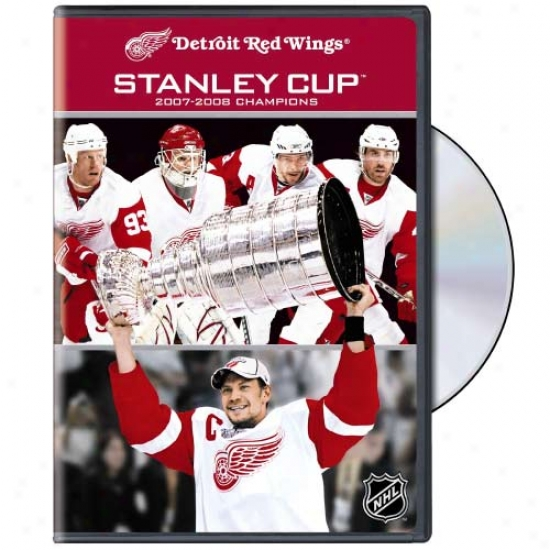 Detroit Red Wings 2007-2008 Stanley Cup Champions Dvd
