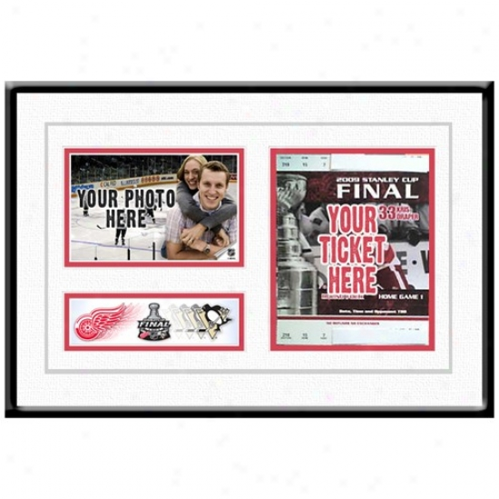Detroit Red Wings 2009 Stanley Cup Finals Ticket Frame