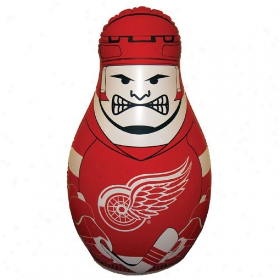 Detroit Red Wings 40'' Inflatable Checking Buddy Punching Bag