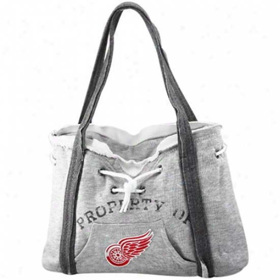 Detroif Red Wings Ash Hoody Purse