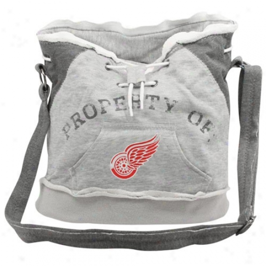 Detroit Red Wingq Ash Hoody Tote Bag