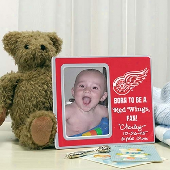 Detroit Red Wings Born To Be Picture Frame