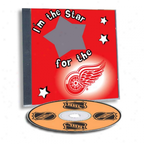 Detroit Red Wings Game Hero Custom Sports Cd