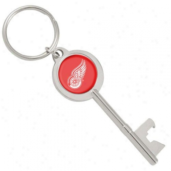 Detroit Red Wings Key Bottle Opener Keychain
