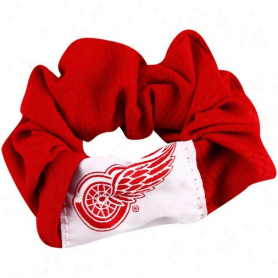 Detroit Red Wings Ladies Red Hair Twist
