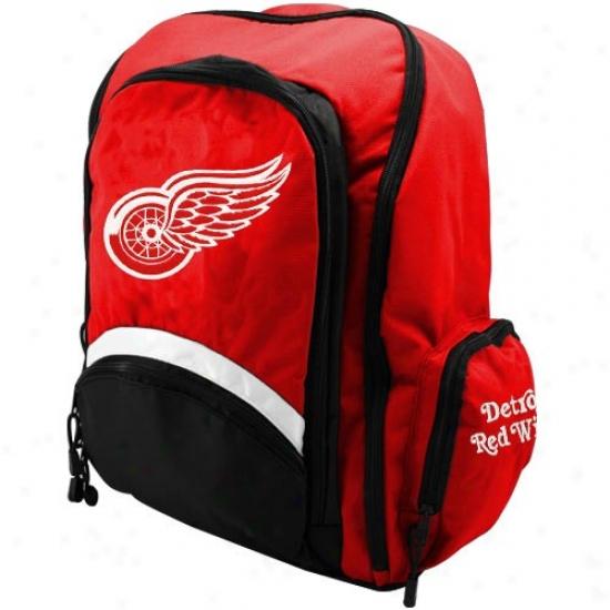 Detroit Red Wings Nhl Standard Backpack