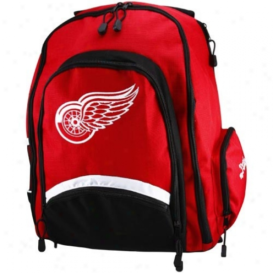 Detroit Red Wings Red-black Lancer Backpack