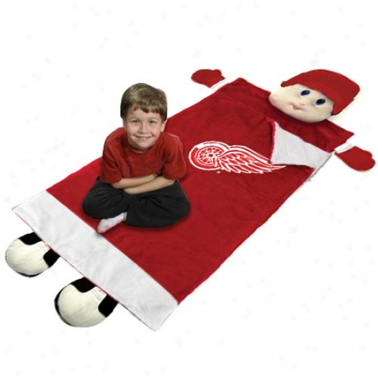 Detroit Red Wings Red Mascot Sleeping Bag