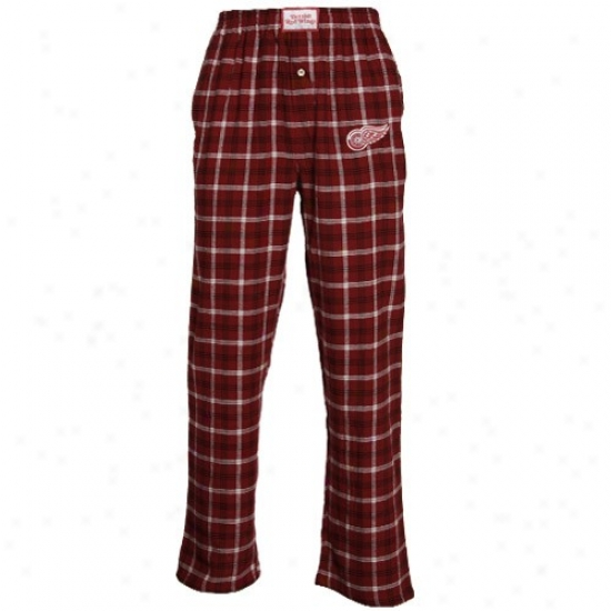 Detroit Red Wings Red Tailgate Pajama Pants