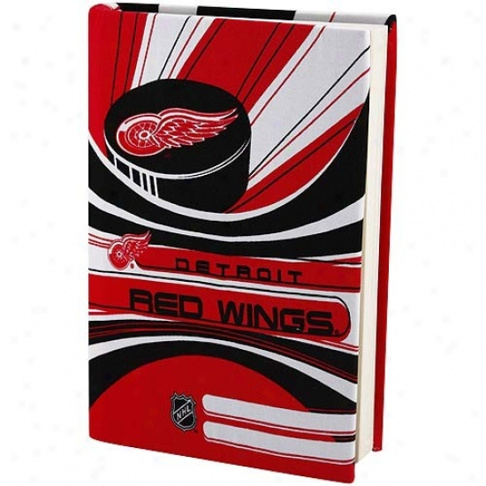 Detroit Red Wings Red-white Stretchable Book Cover