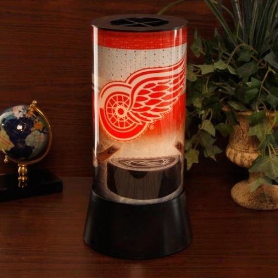 Detroit Red Wings Rotaating Lamp