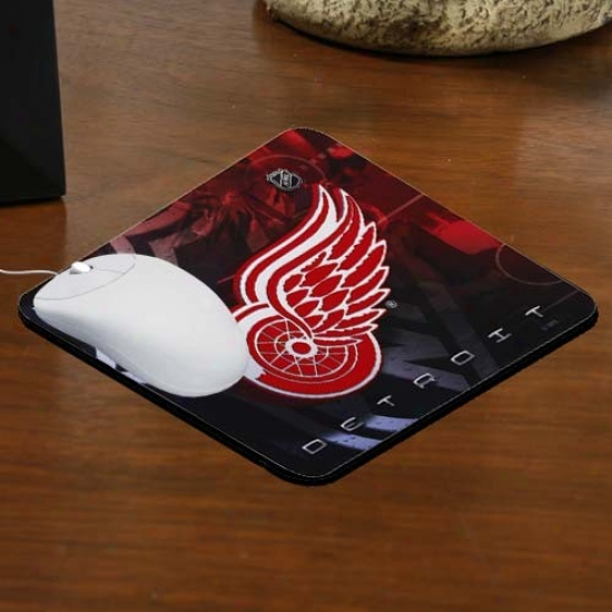 Detroit Red Wings Team Logo Neorene Mousepad