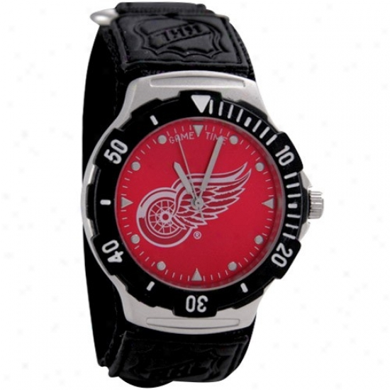 Detroit Red Wings Watches : Detroit Red Wings Agent V Watches