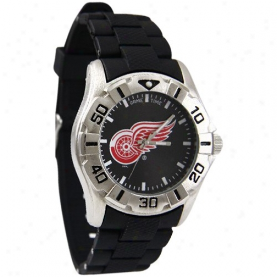 Detroit Red Wings Watches : Detroit Red Wings Stainless Steel Mvp Wacyhes