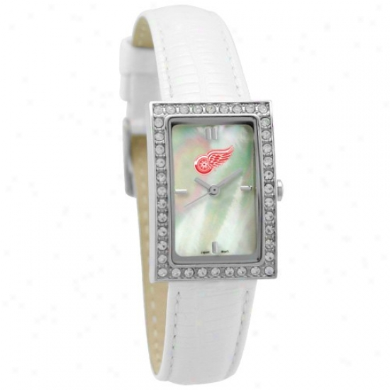 Detroit Red Wings Wrist Watch : Detroit Red Wings Ladies Allute Wrist Watch