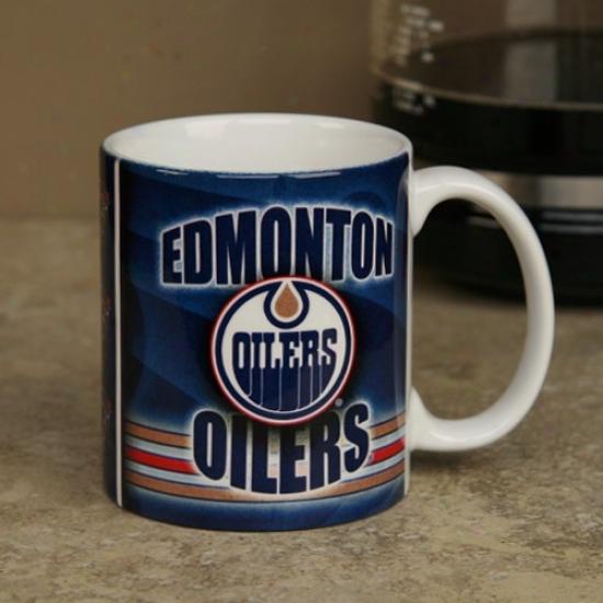Edmonton Oilers 11oz. Slapshot Coffee Mug