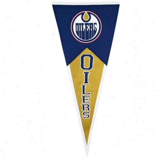 Edmonton Oilers Classic Wool Pendant