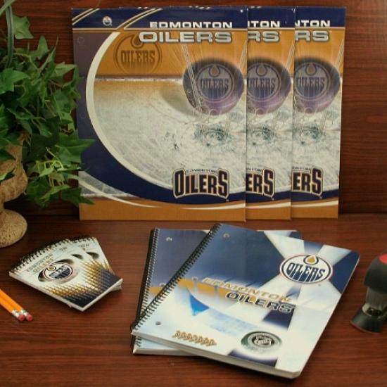 Edmonton Oilers Combo School Compress