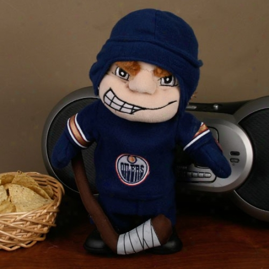 Edmonton Oilers Dancing Hockey Idler