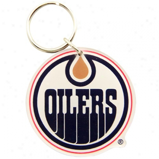 Edmonton Oilers High Definition Keychain