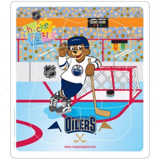 Edmonton Oilers Hockey Puzzle