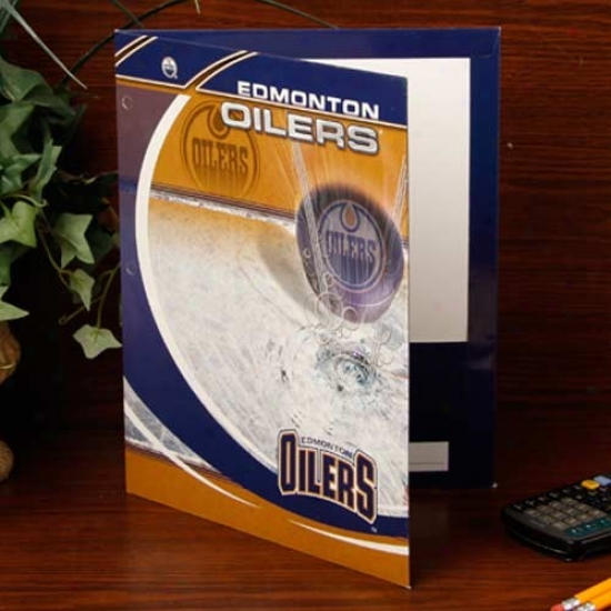 Edmonton Oilers Team Folder