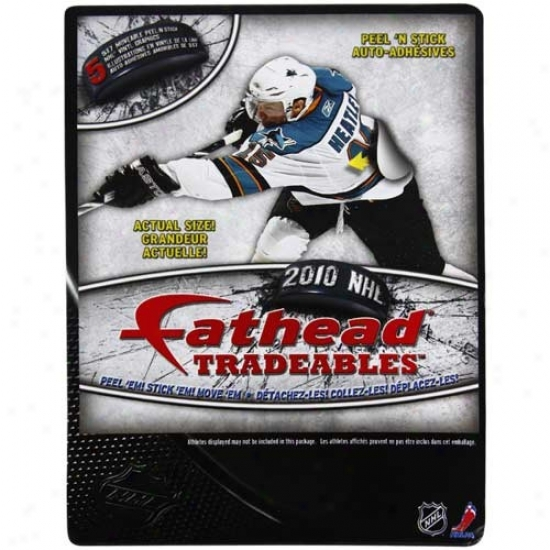 """fathead 2010 Nhl Tradeables 5"""" X 7"""" Wall Clings"""