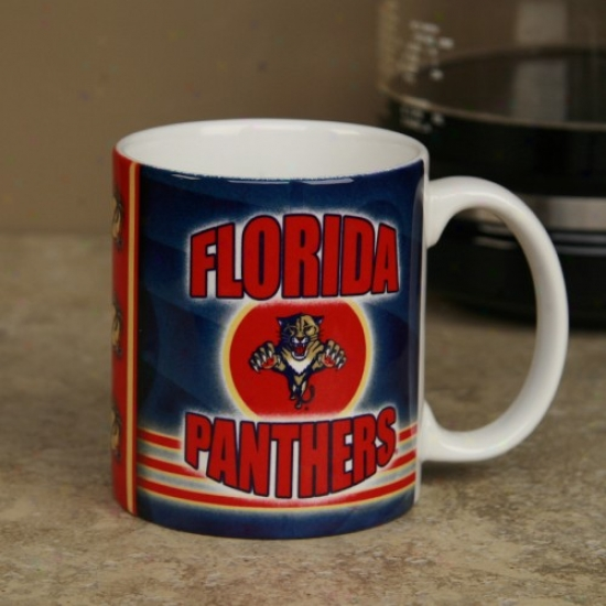Florida Panthers 11oz. Slapshot Cofee Mug