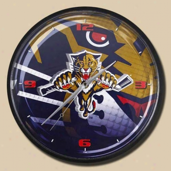 Florida Panthers 12'' Wall Clock