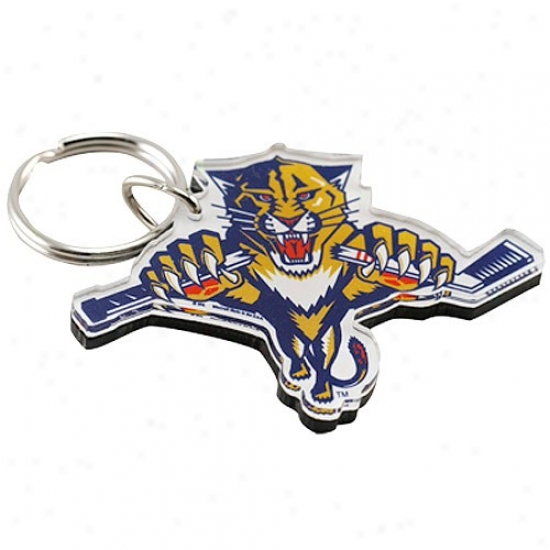 Florida Panthers High-def Team Logo Wedge Chain