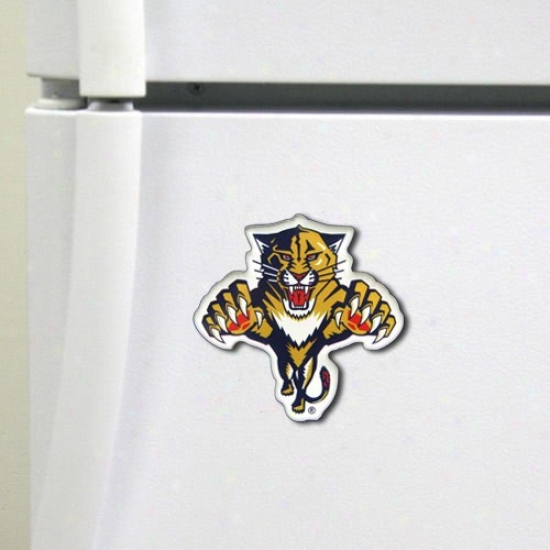 Floriea Panthers High Definition Magnet