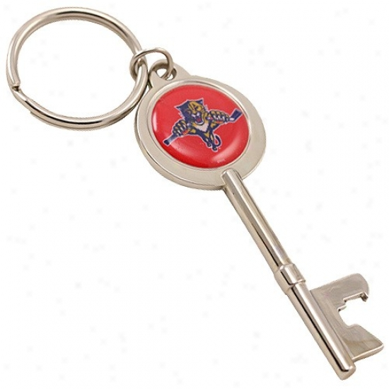 Florida Panthers Key Bottle Opener Keychain