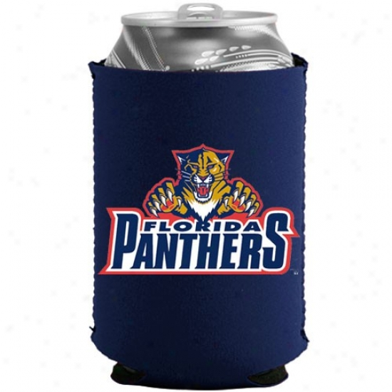 Florida Panthers Navy Blue Collapsible Can Coolie
