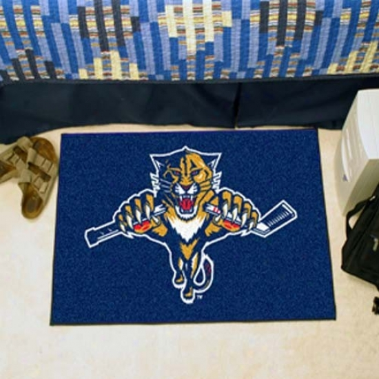 Florida Panthers Navy Blue Logo Starter Mat